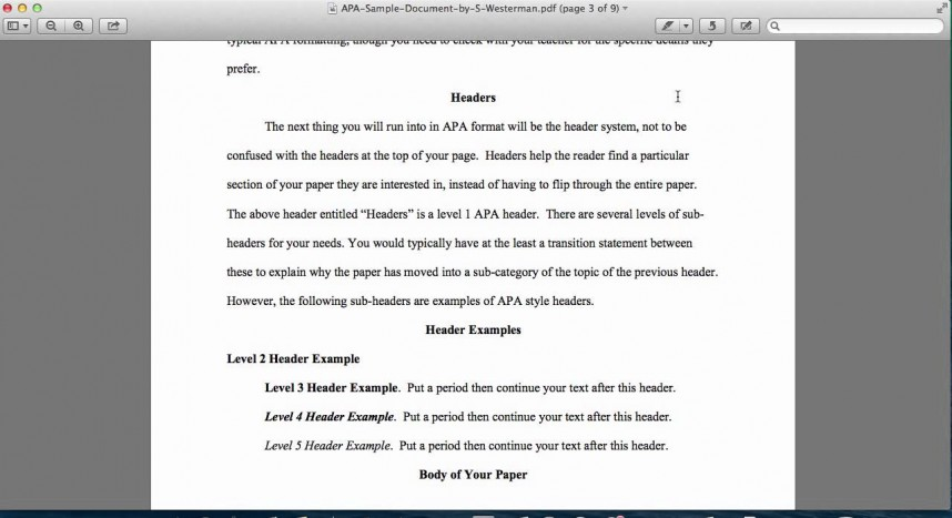 004 Maxresdefault Research Paper Introduction Of Best A Apa In Style Format For An