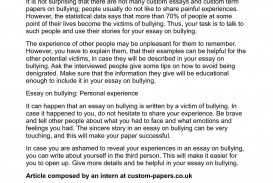 004 P1 Bullying Researchs Formidable Research Papers Cyberbullying Anti Paper Example
