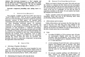 004 Page 1 Research Paper Ieee Wonderful Format Sample Online In Word