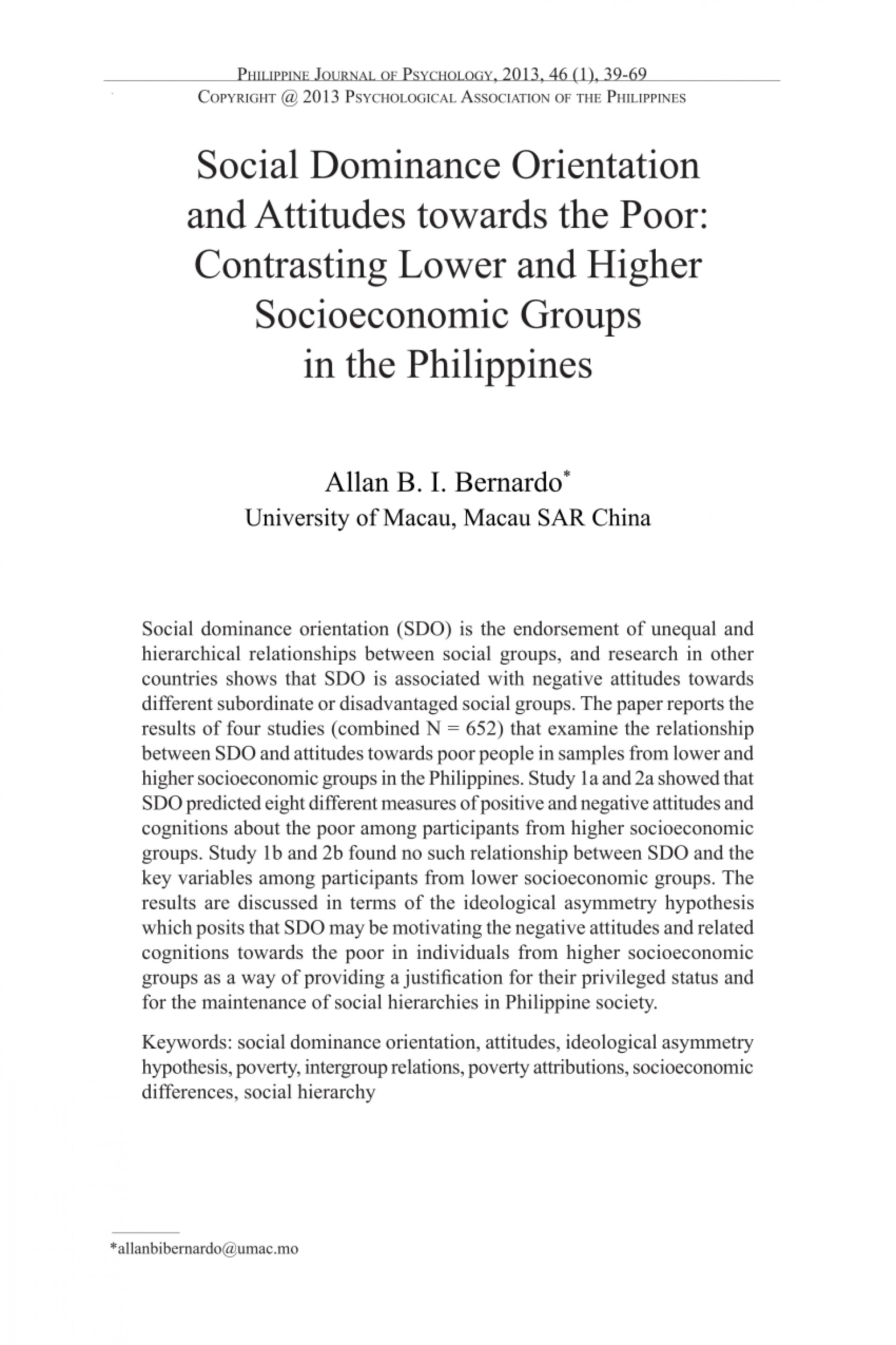 004 Poverty In The Philippines Research Paper Pdf Impressive 1920