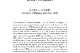 004 Poverty In The Philippines Research Paper Pdf Impressive 320