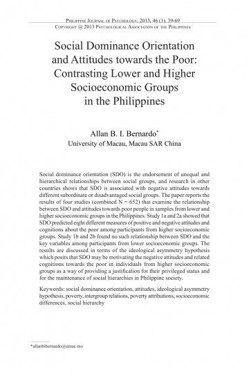 004 Poverty In The Philippines Research Paper Pdf Impressive 360