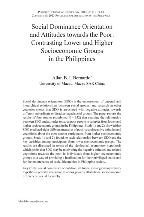 004 Poverty In The Philippines Research Paper Pdf Impressive 480