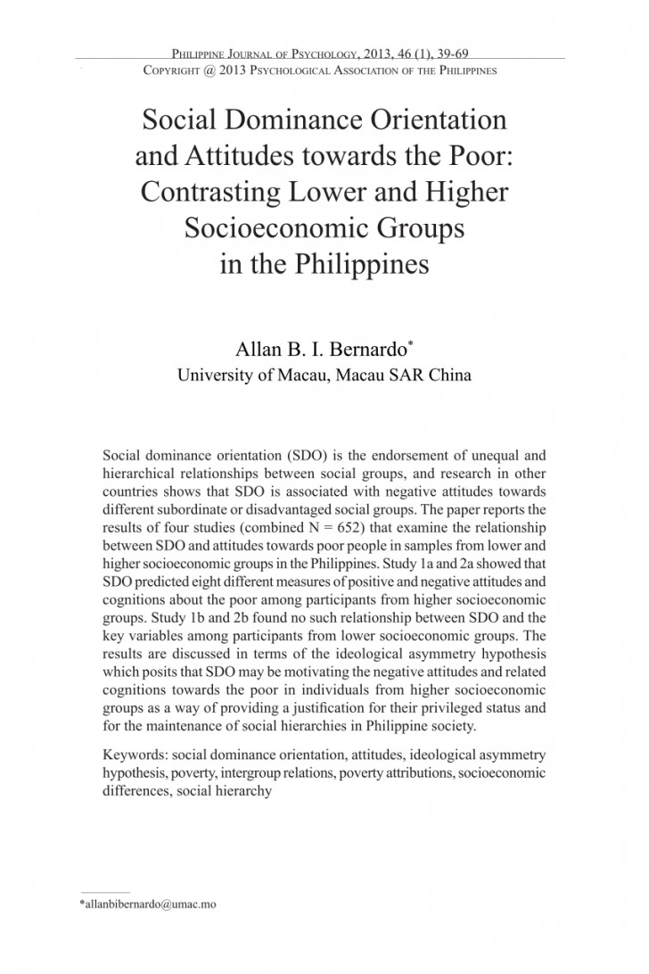 004 Poverty In The Philippines Research Paper Pdf Impressive 728
