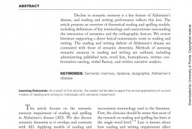 004 Research Paper Abstract Alzheimers Exceptional Alzheimer's