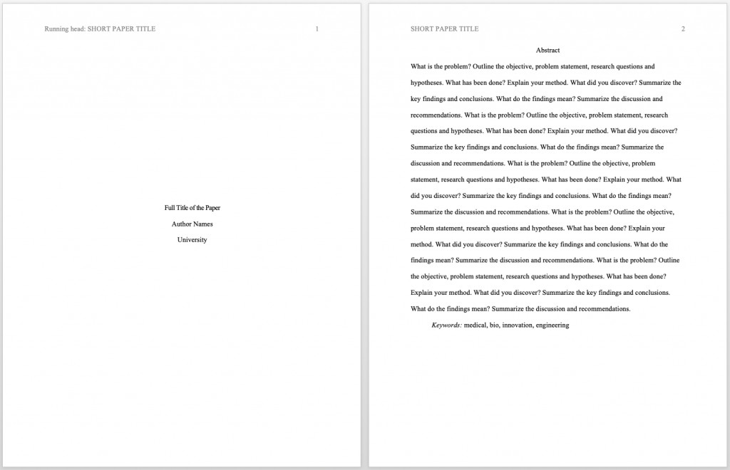 004 Research Paper Apa 6th Edition Headings Format Exceptional Large