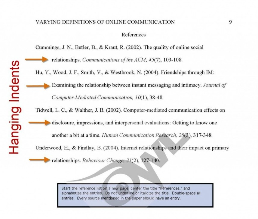 004 Research Paper Apa Style Sample Owl Frightening