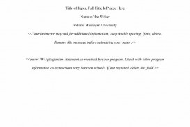 004 Research Paper Apa Template Shocking Style Outline Word