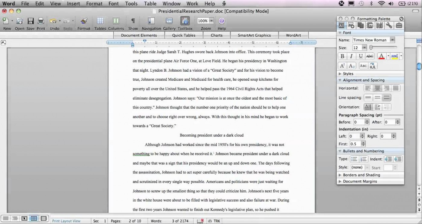 004 Research Paper Chicago Style In Text Citation Sample Wondrous 1400