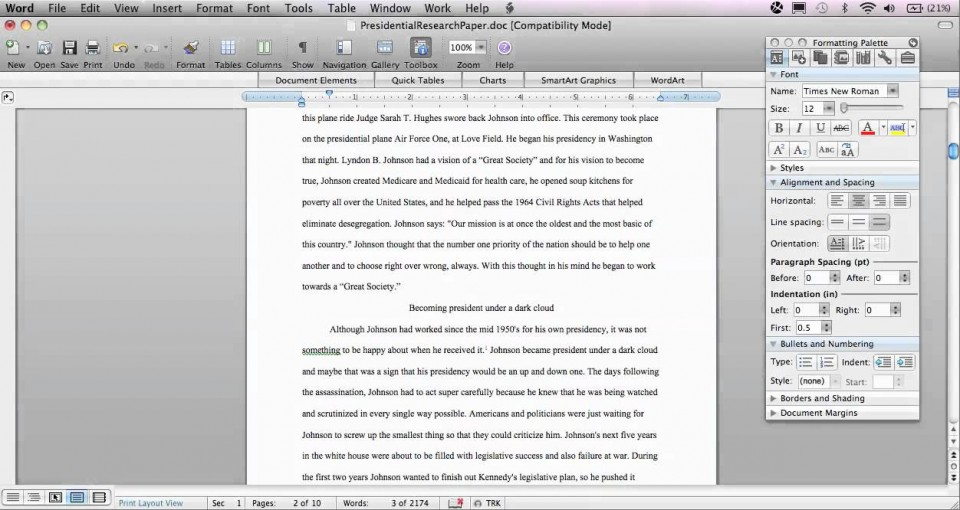 004 Research Paper Chicago Style In Text Citation Sample Wondrous 960