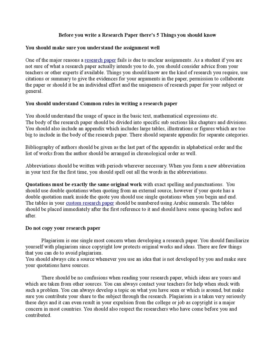 004 Research Paper Chronological Order Of Awesome A Full