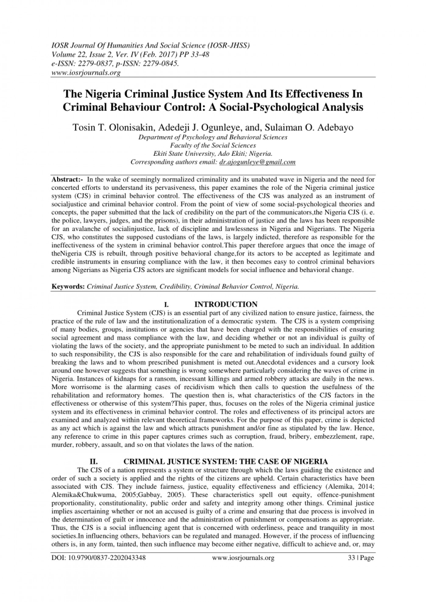 004 Research Paper Criminal Justice Administration Topics Best 1400