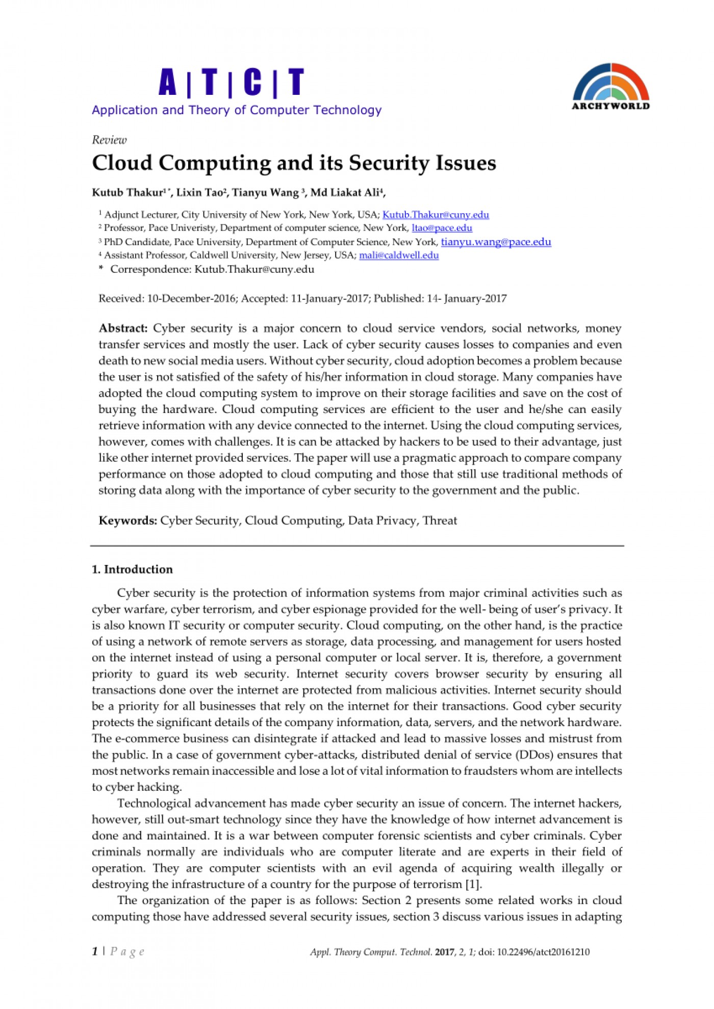 004 Research Paper Cyber Security Pdf Magnificent 2017 1400