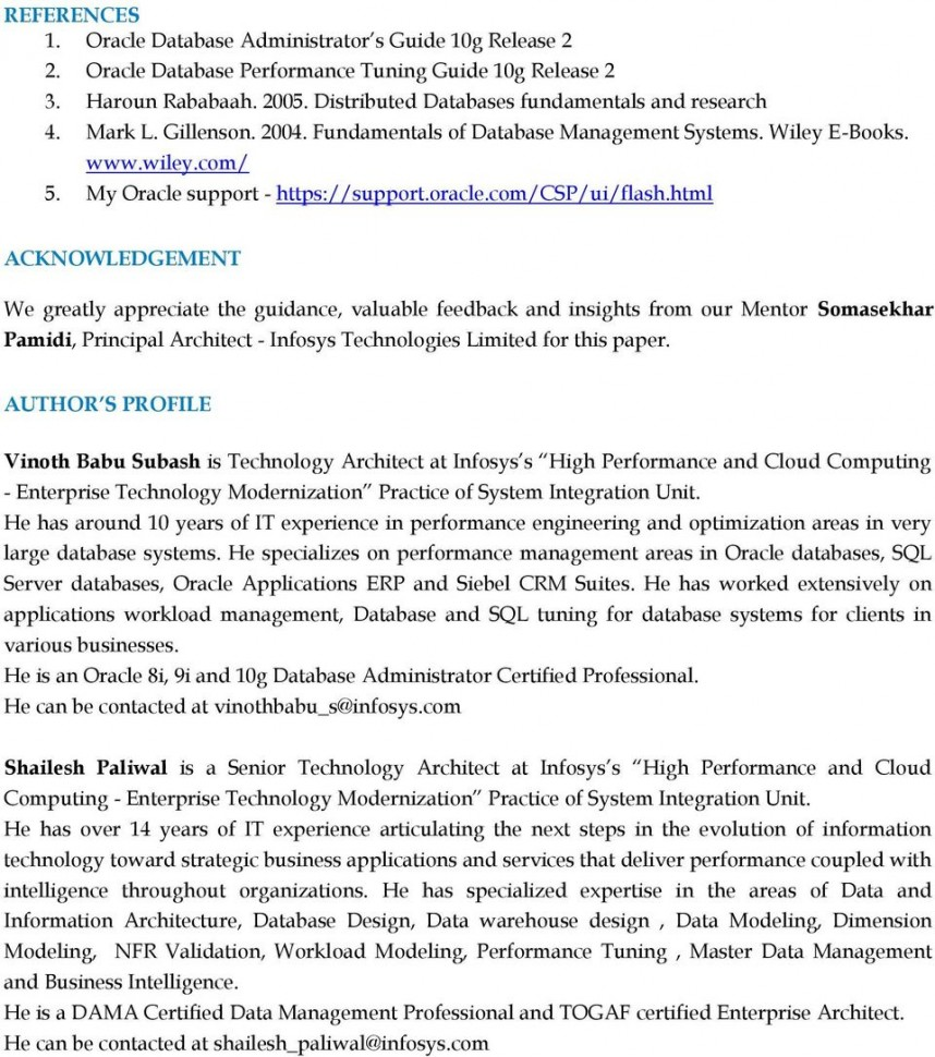 004 Research Paper Database Management Topics Page 14 Amazing On System