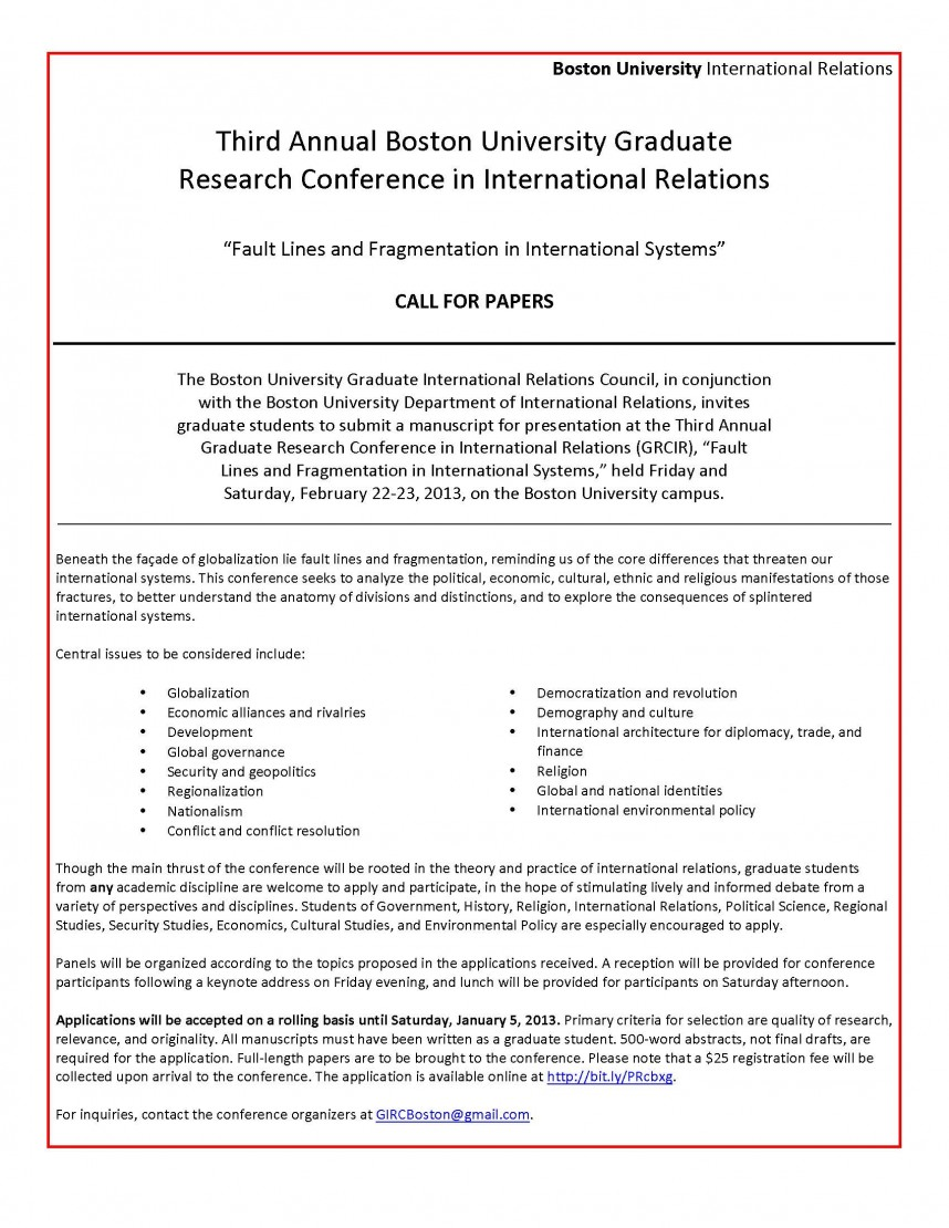 004 Research Paper How To Write For International Conference Rare A
