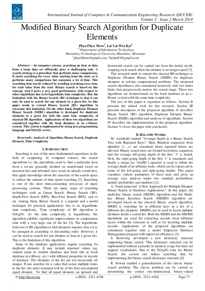 004 Research Paper Largepreview Binary Search Algorithm Frightening Papers
