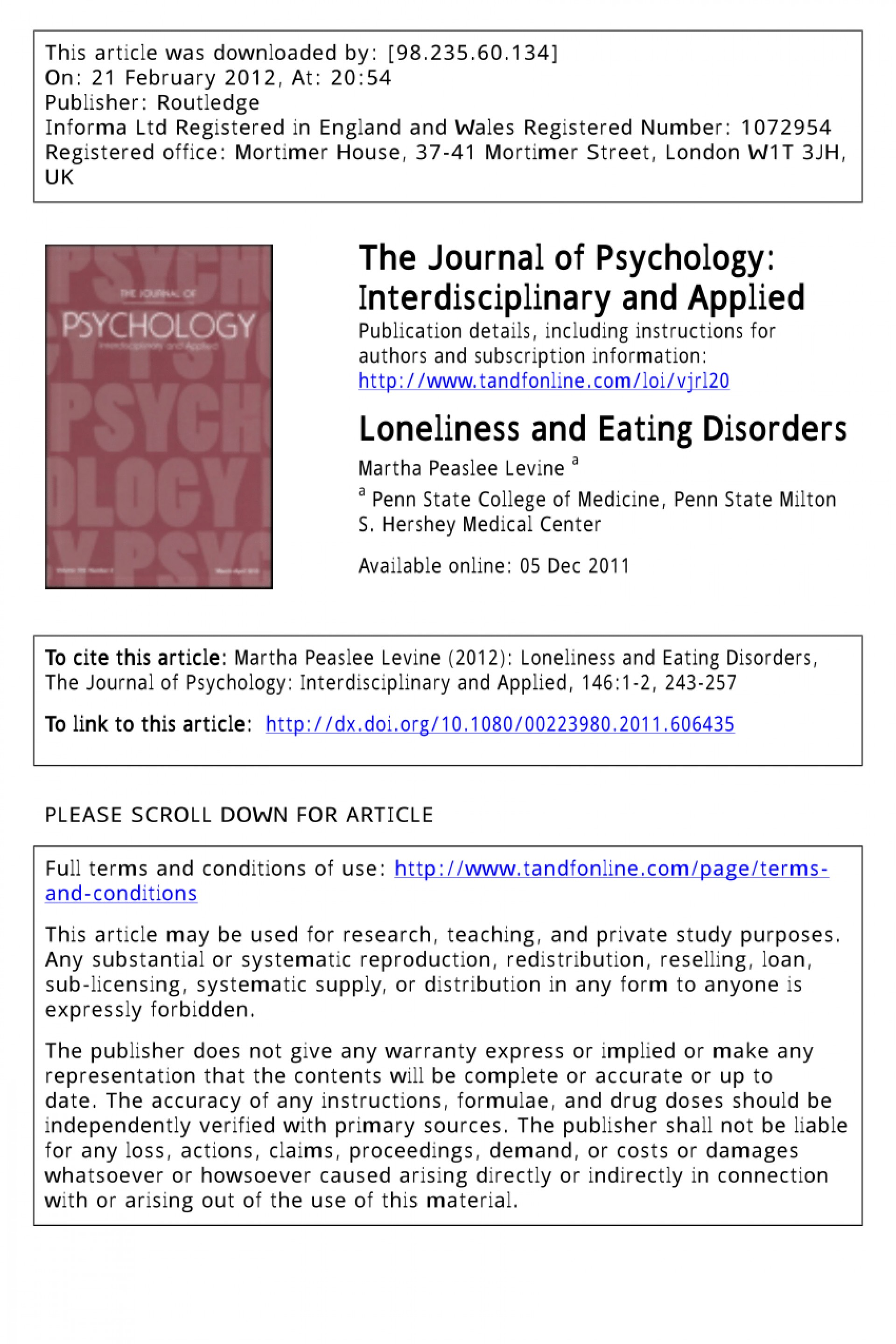 004 Research Paper Largepreview Psychological On Eating Imposing Disorders Psychology Topics 1920