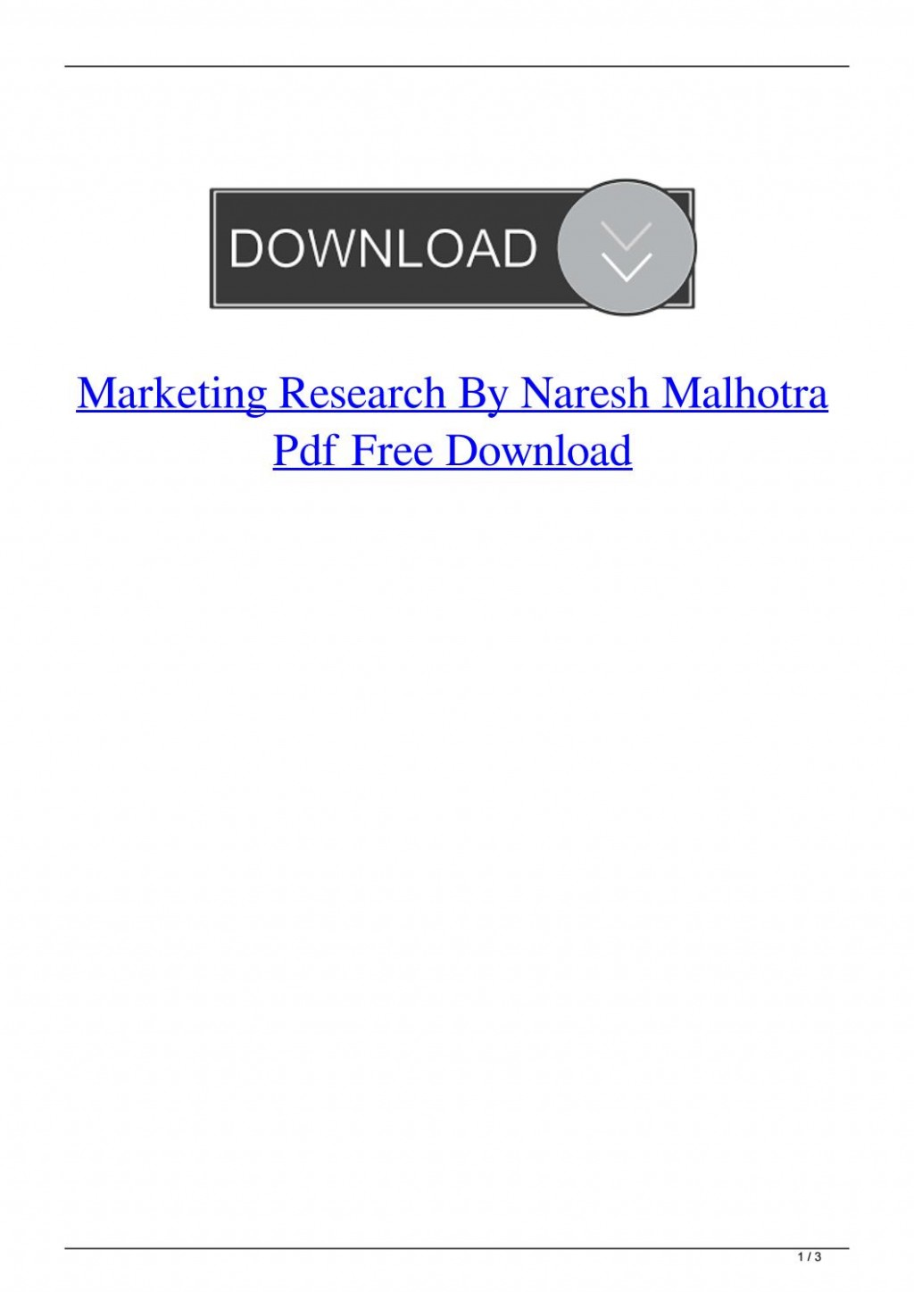 004 Research Paper Marketing Papers Pdf Free Download Page 1 Impressive Large