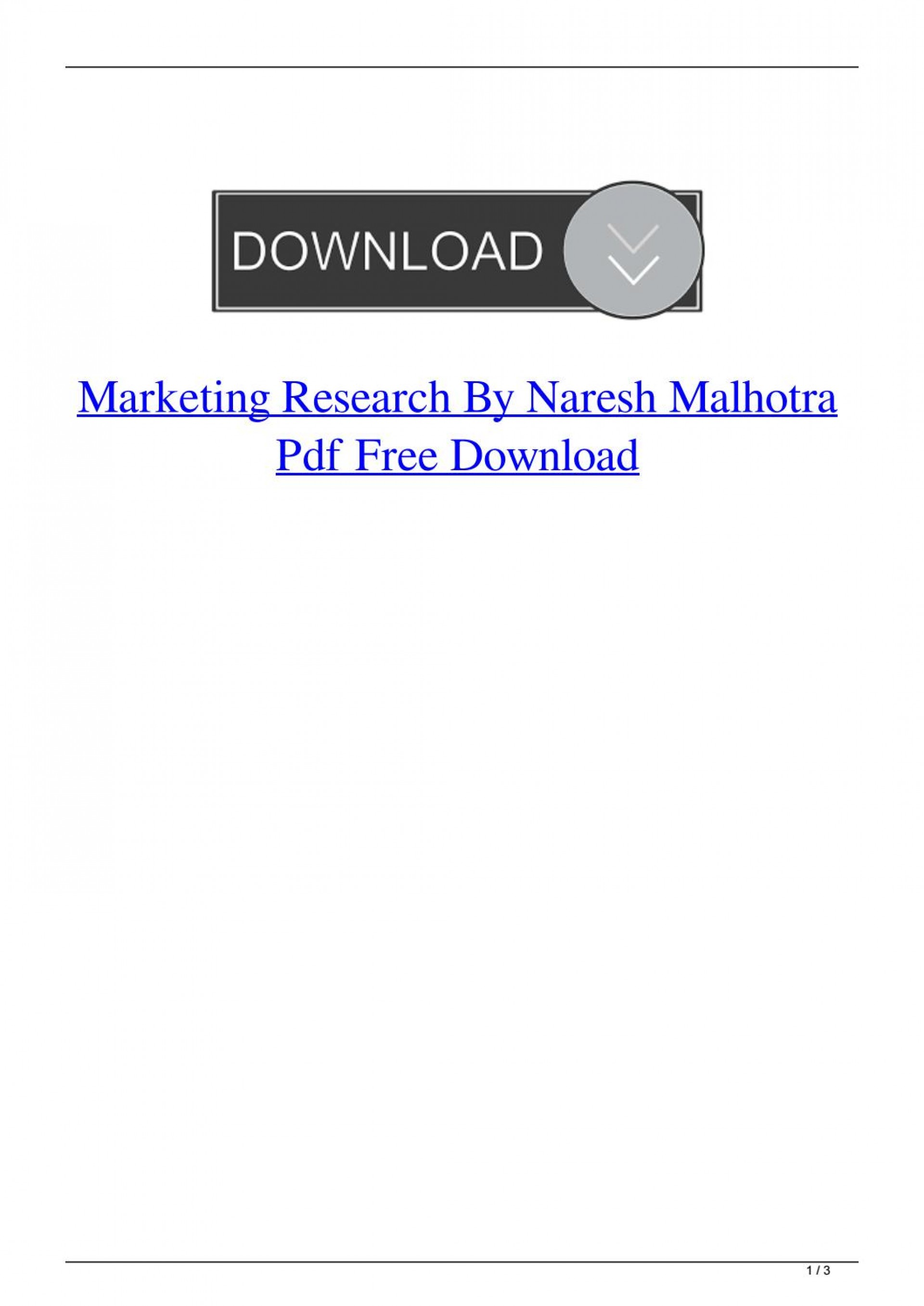 004 Research Paper Marketing Papers Pdf Free Download Page 1 Impressive 1920