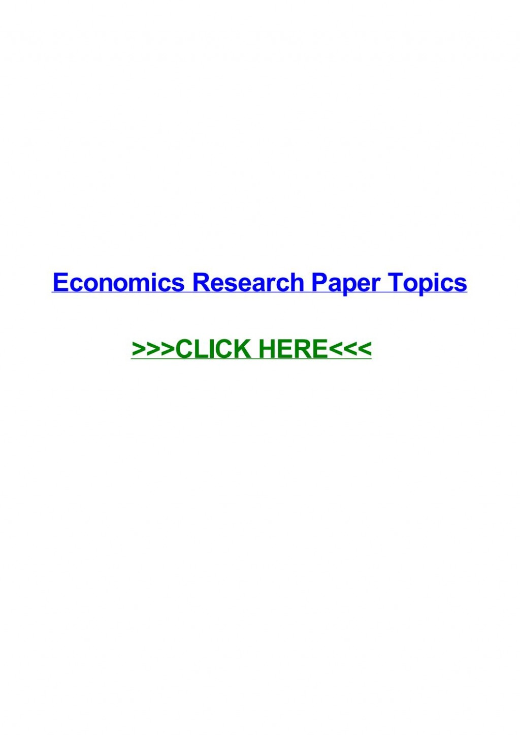 004 Research Paper Page 1 In Economics Stupendous Topics Finance Business International Large