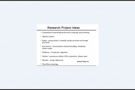 004 Research Project Ideas Paper Cool Topics To Do Wonderful A On Good Interesting