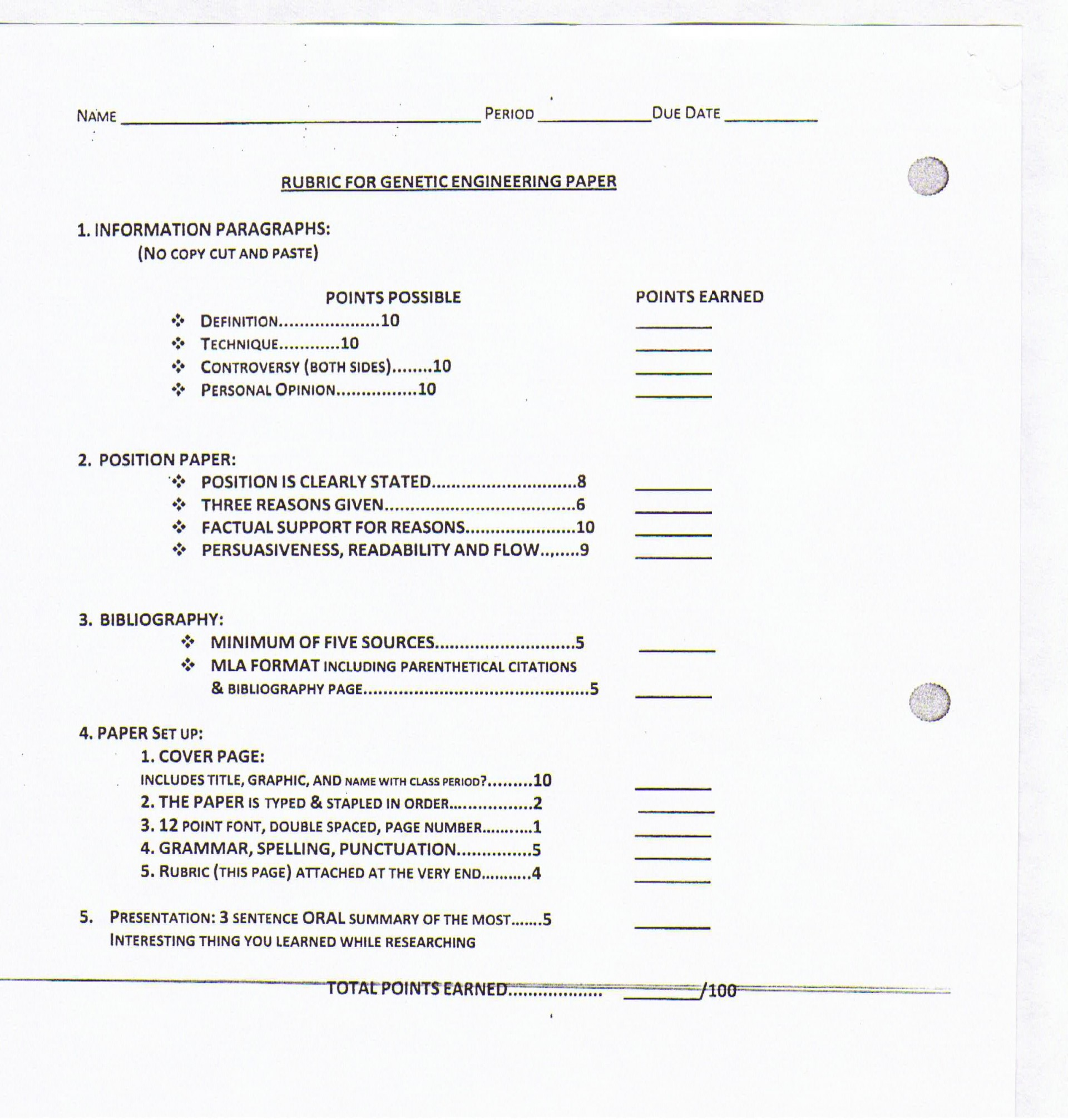 004 Research20paper202 Jpg Biology Research Paper Dreaded Rubric High School 1920