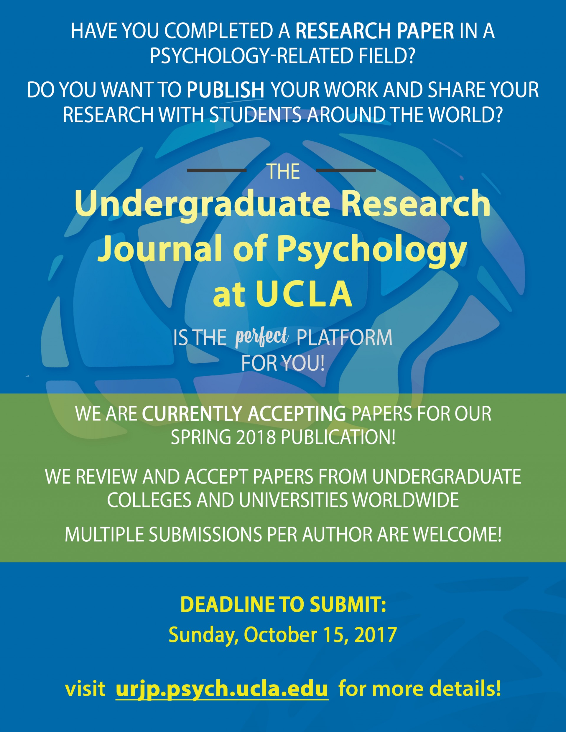 004 Submissions Open Research Paper How To Publish As An Marvelous A Undergraduate In India 1920