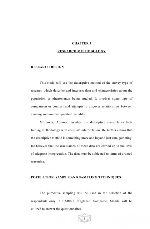 005 Experimental Research Paper Sample Pdf Philippines