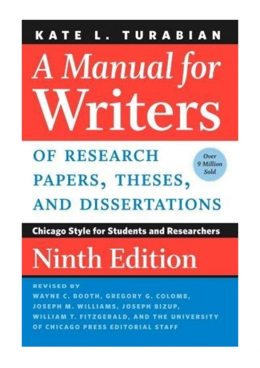 005 022643057x Amanualforwritersofresearchpapersthesesanddissertationsnintheditionbykatel Thumbnail Research Paper Manual For Writers Of Papers Theses And Sensational A Dissertations By Kate L Turabian L.