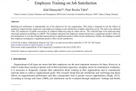 005 Abstract For Research Paper On Job Satisfaction Awesome