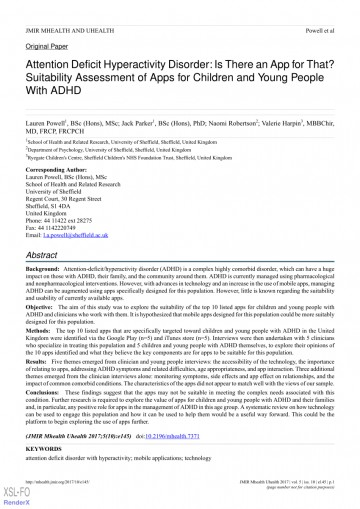 005 Adhd Research Paper Abstract Amazing 360