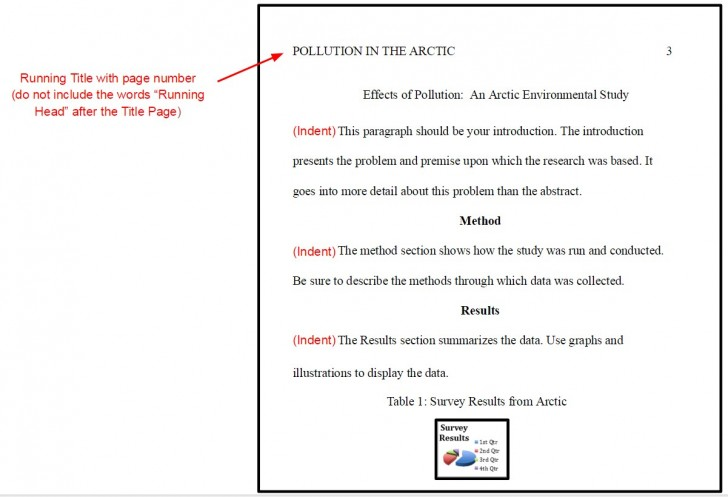 005 Apa Format For Research Paper Sample Formidable Style Example 6th Edition Outline 728