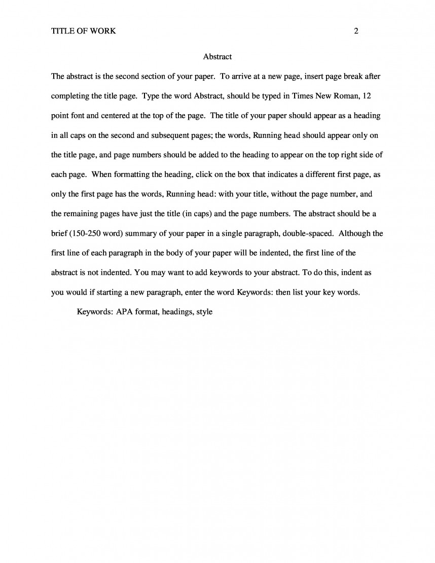 005 Apa Sample Paper Scf Page Research Nursing Best Example Proposal Literature Review Career Examples