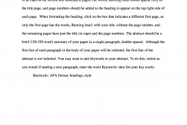 005 Apa Sample Paper Scf Page Research Papers On Archaicawful Nursing Topics In Education Field