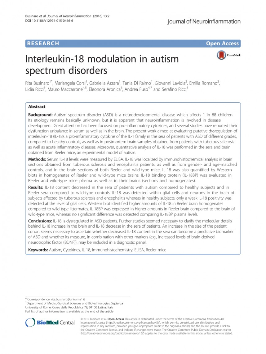 005 Autism Spectrum Disorder Research Paper Stupendous Topics