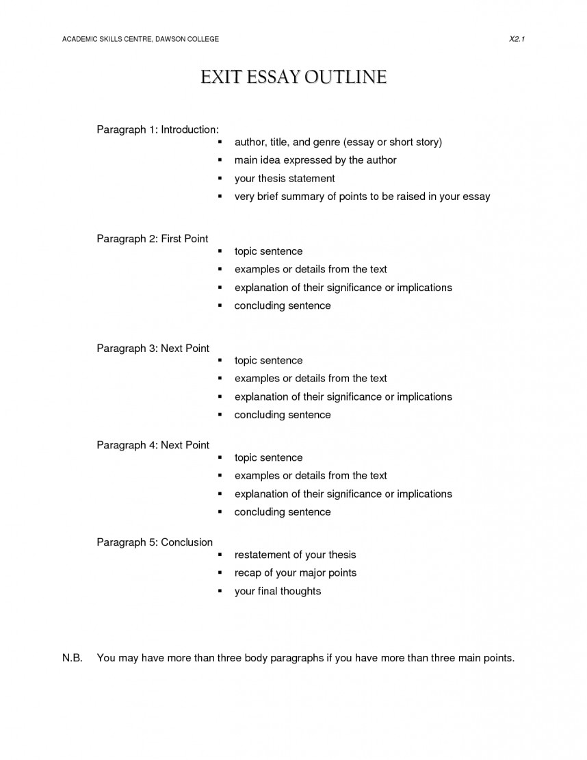 005 College Research Paper Outline Format Stunning Apa