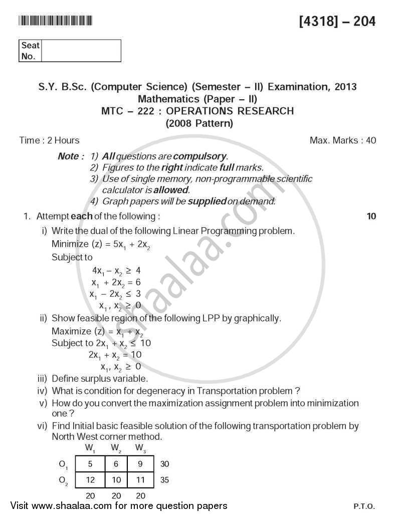 005 Computer Scienceh Papers Download University Of Pune Bachelor Bsc Operations Sybsc Mathematics Semester 2014 202a0006c3dde448887d1ae477c436d86 Fascinating Science Research Pdf Free Ieee Full