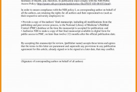 005 Cover Letter For Research Paper Striking Publication Manuscript Article