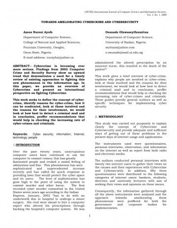 005 Cyber Security Research Paper Example Dreaded 360