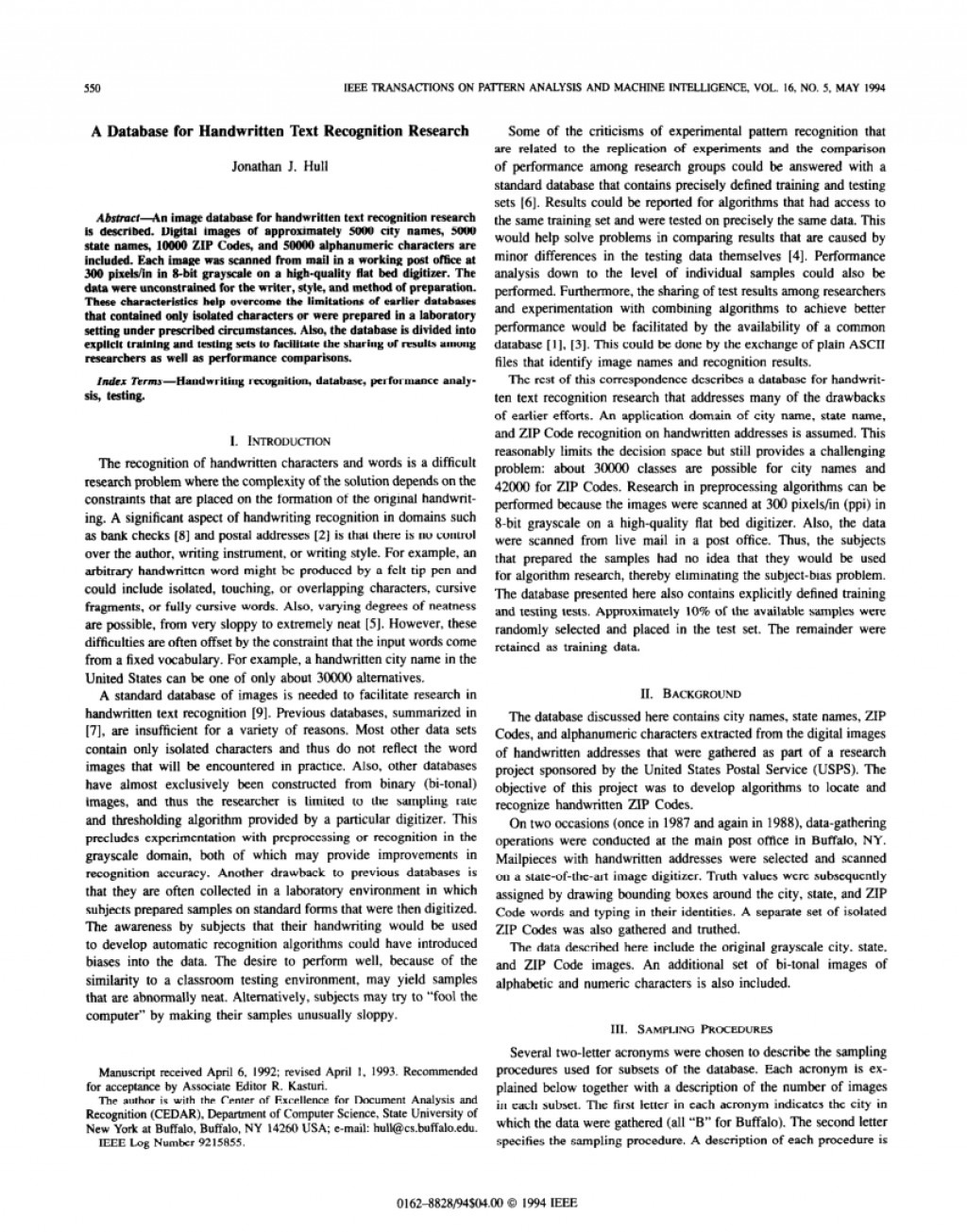 005 Database Research Paper Ieee Unbelievable Security Large