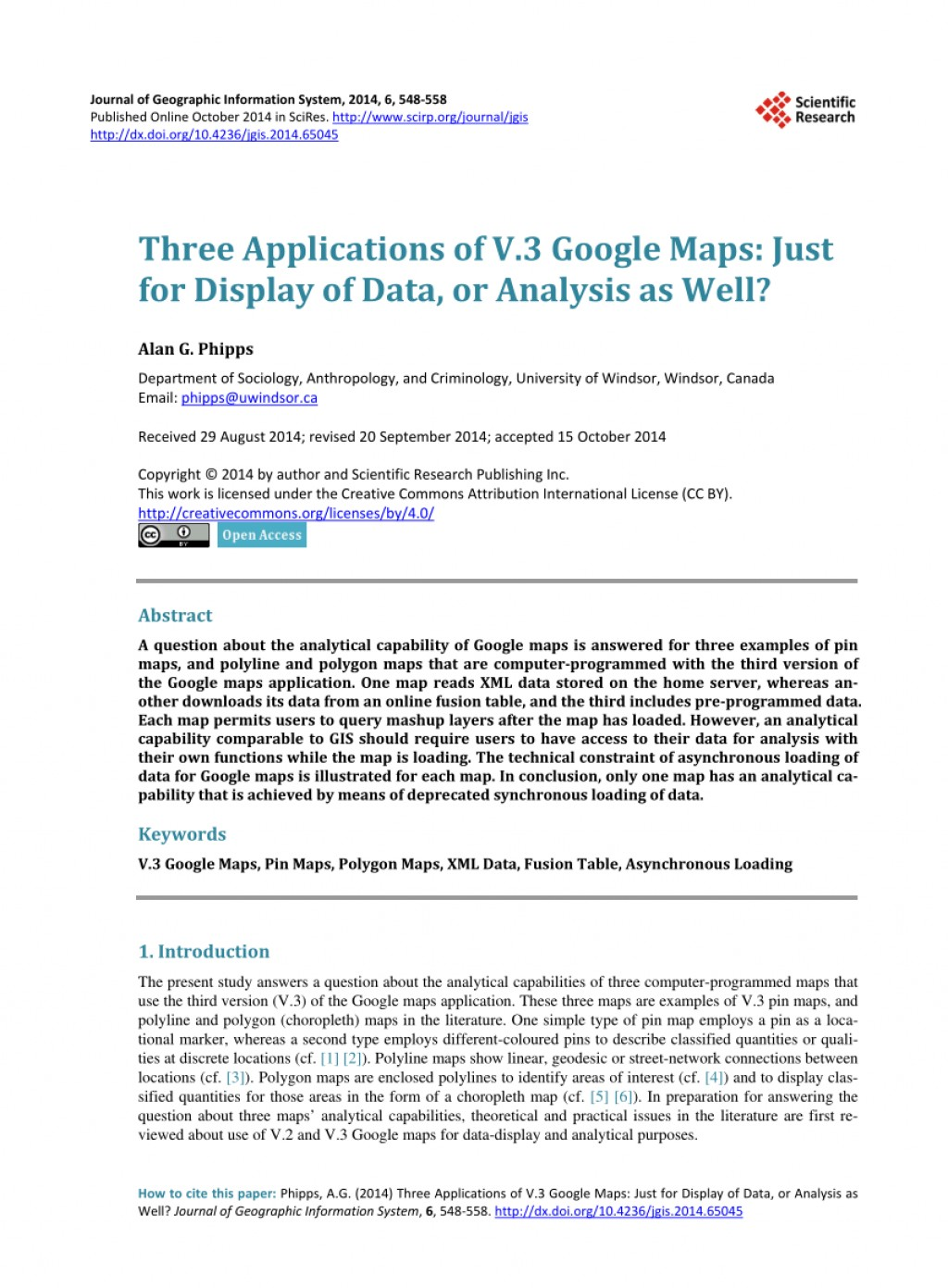 005 Google Maps Research Papers Paper Wonderful Large