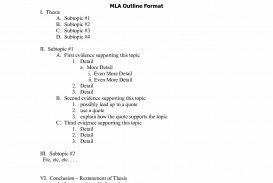 005 How To Write Research Outliner Mla Style Format Template Luxury Sample Bamboodownunder Of Best A Outline Paper