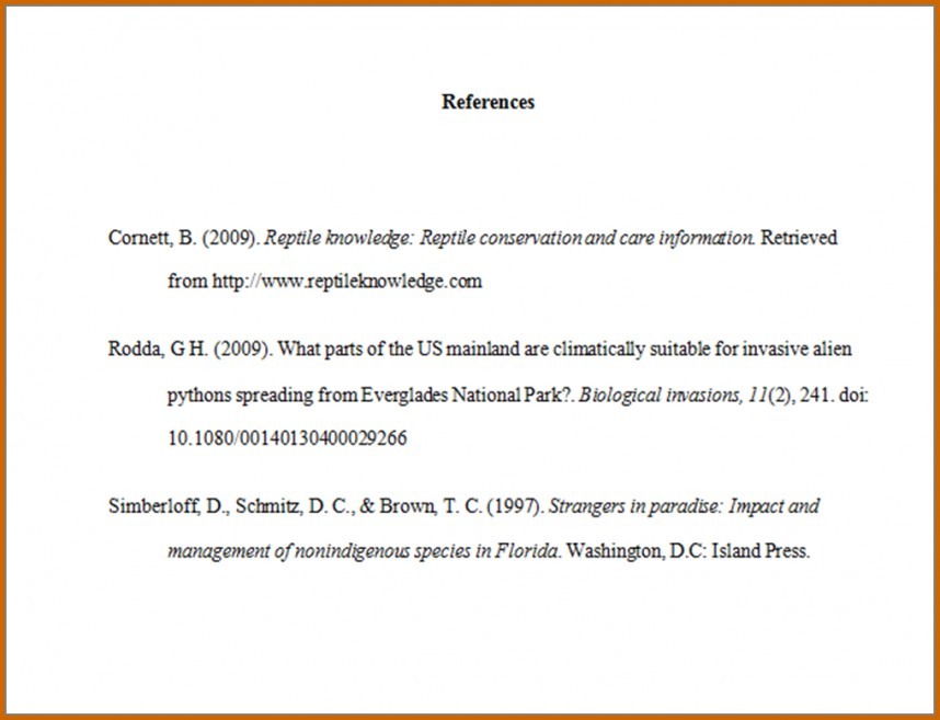005 How Write References In Apa Format Samplereferencelist Works Cited Page Research Impressive Style Example Does Require A Purdue Owl Sample Reference