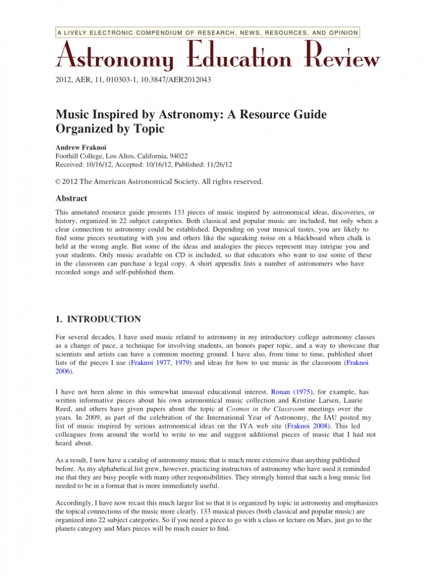 005 Largepreview Research Paper Astronomy Topics Incredible For Interesting