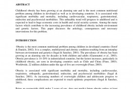 005 Largepreview Research Paper Childhood Obesity Unique Pdf