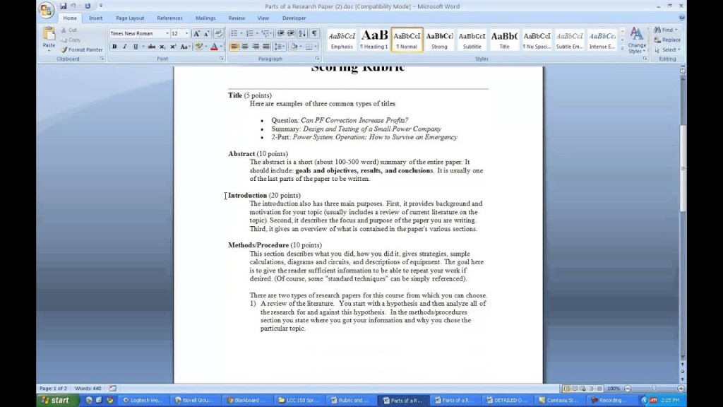 005 Literature Review In Research Paper Striking Including Process Ppt Topic Large