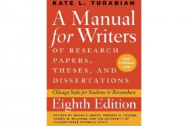 005 Manual For Writers Of Research Papers Theses And Dissertations Turabian Paper Book Thumbnail Amazing A Pdf