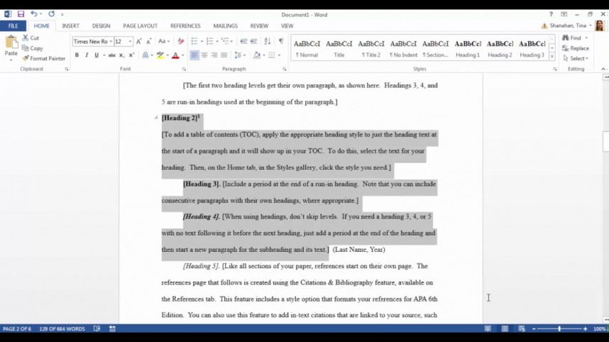 005 Maxresdefault Research Paper Apa Template Rare Word Style Format Outline