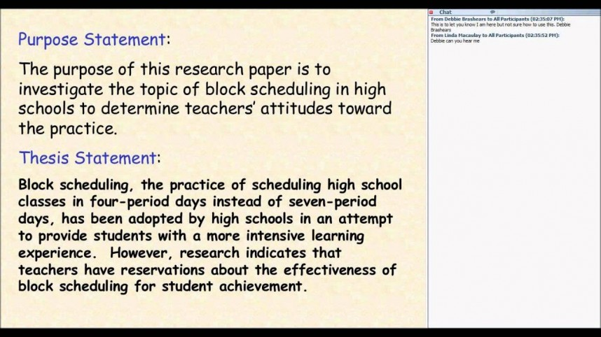 005 Maxresdefault Research Paper Examples Of Good Thesis Fearsome Statements