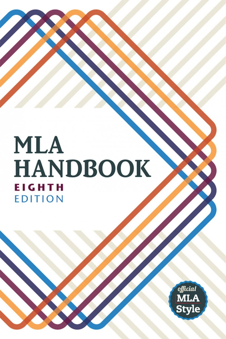 005 Mla Handbook For Writers Of Researchs 8th Edition Unique Research Papers Pdf Free Download Amazon